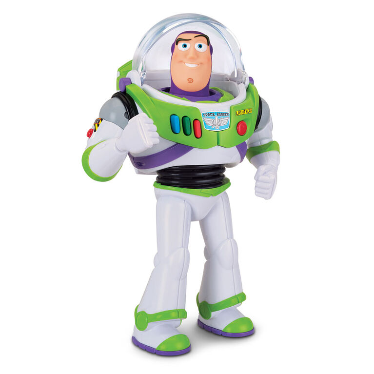 Toy Story Buzz L'Éclair Figurine D'Action Parlante.