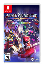 Nintendo Switch-Power Rangers Battle For The Grid Super Edition
