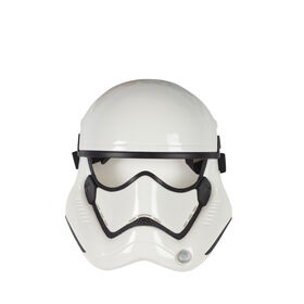 Star Wars First Order Stormtrooper Mask for Kids Roleplay and Dress Up, Star Wars Galaxy's Edge - R Exclusive