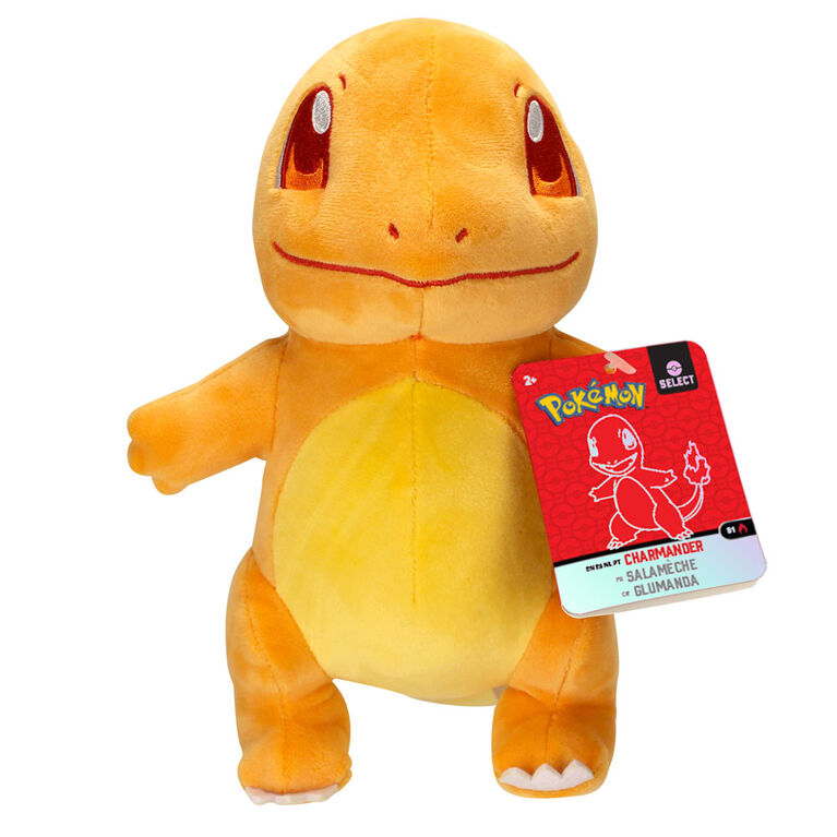 Peluche Pokémon de 20 cm - Salamèche (Charmander)