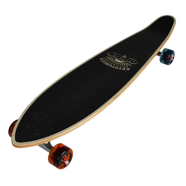 """Kryptonics 36"""" Longboard Complete Skateboard"""