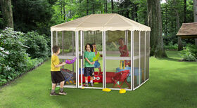 Gazebo Penguin 7' x 7' Children's Outdoor/Indoor Gazebo