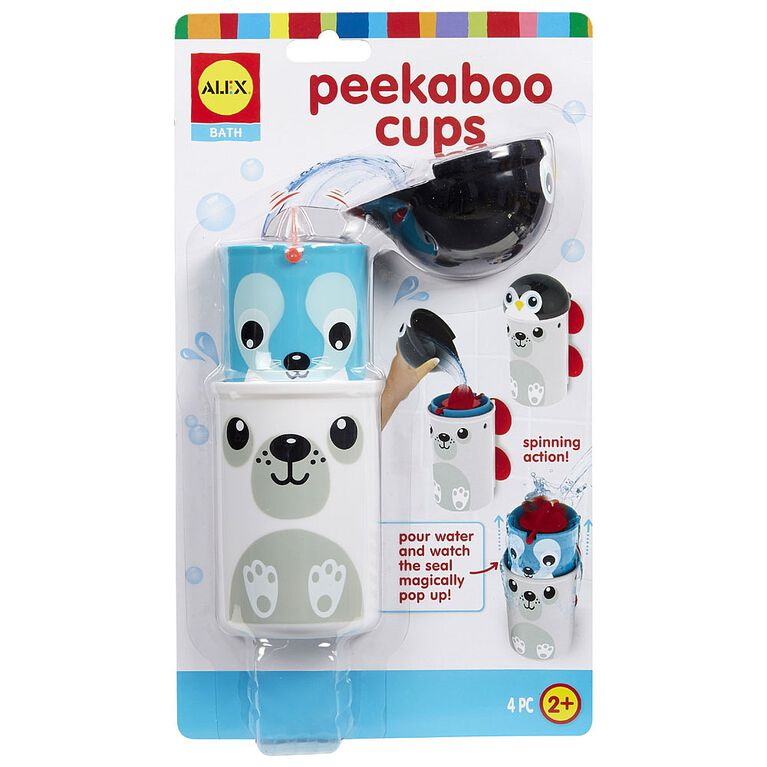 Peekaboo Cups