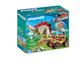 Playmobil - Explorer Vehicle with Stegosauraus (9432)