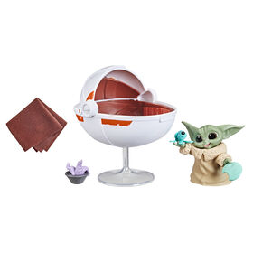 Star Wars The Bounty Collection Grogu's Hover-Pram Pack The Child Collectible 2.25-Inch-Scale Figure