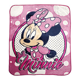 Couverture en micro peluche de Disney Minnie Mouse