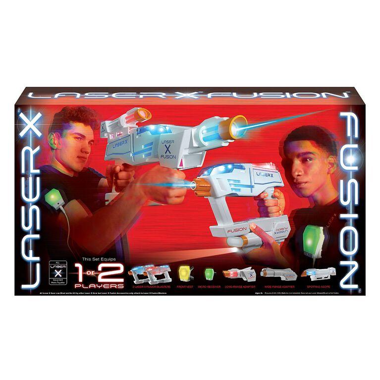 Ensemble complet Laser X Fusion.