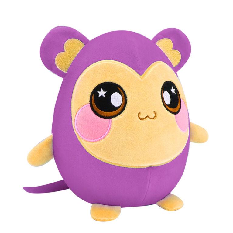 Squeezamals Deluxe - Purple Monkey