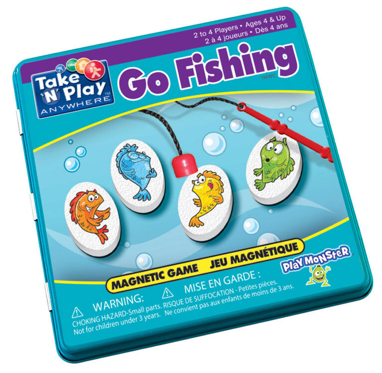 Go Fishing Game Tin
