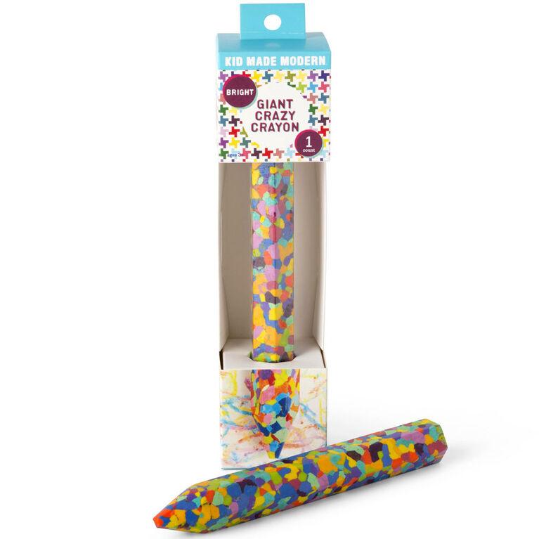 Giant Crazy Crayon- Bright - English Edition