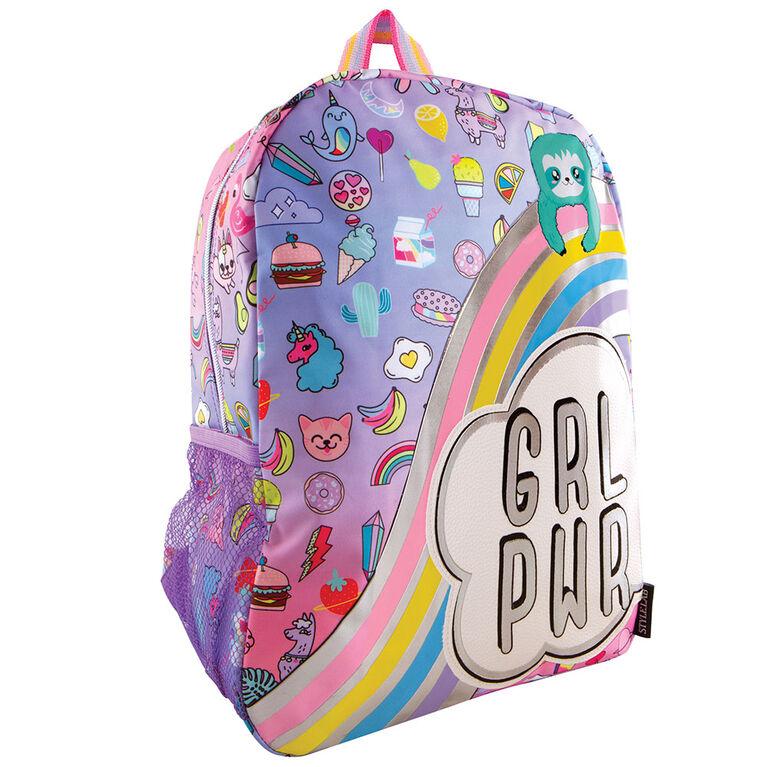 Fashion Angels - Sloth & Squad Doodle Backpack