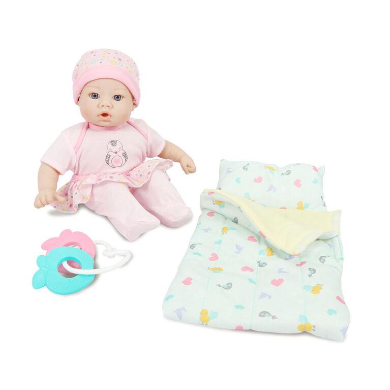 Ensemble Cadeau Poupée Bébé Li'L Cuddles De 12 Po (30,50 Cm) - Les couleurs et les motifs peuvent varier - une par commande
