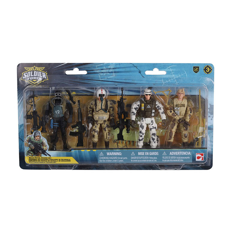 Soldier Force Squad Patrol Figures Set - R Exclusive