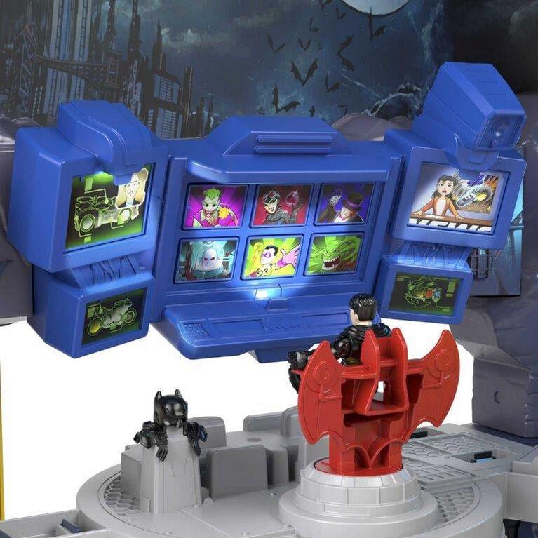 Fisher-Price - Imaginext - DC Super Friends - Batcave Super Surround - Édition anglaise