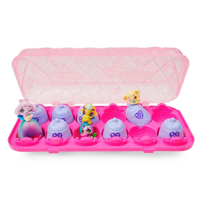 Hatchimals CollEGGtibles, Boîte de 12 oeufs Shimmer Babies