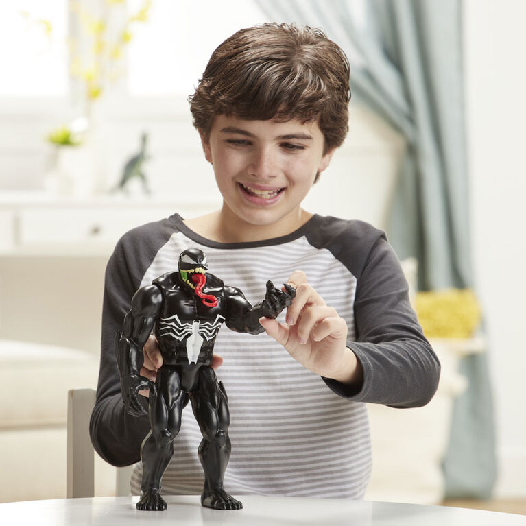 Spider-Man Maximum Venom Titan Hero - Figurine Venom