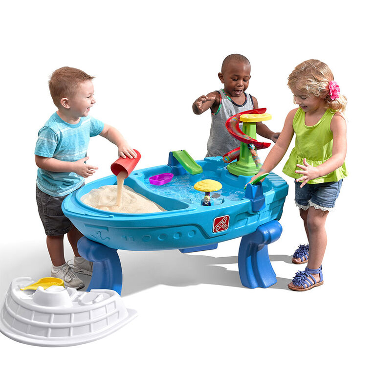 Step2 - Fiesta Cruise Sand & Water Table with Umbrella - R Exclusive