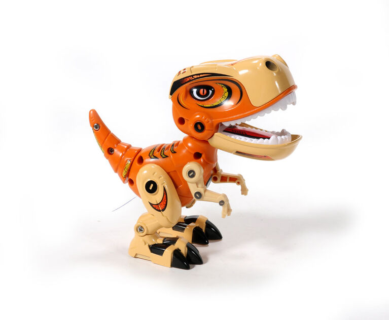 Braha- Rex - Die Cast Interactive Dino-Orange