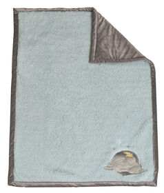 Disney Baby Reversible Baby Blanket- Dumbo