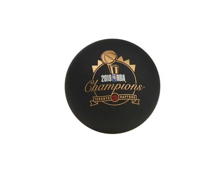 Spalding Spaldeen mini high bounce Raptors Championship Ball
