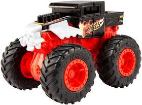 Hot Wheels - Monster Trucks - Bash-Ups - Cyber Crush - Les styles peuvent varier - Édition anglaise.