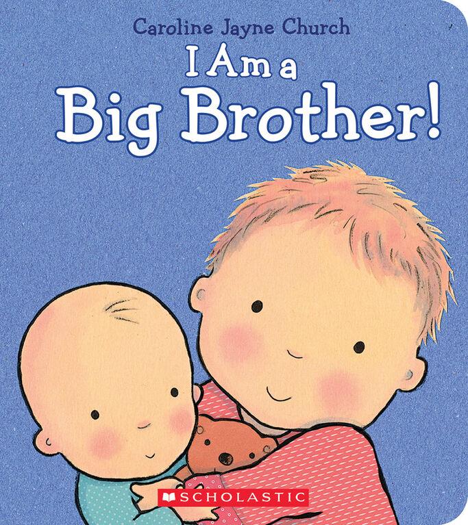 I Am A Big Brother - English Edition