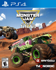 PlayStation 4 Monster Jam Steel Titans