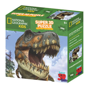 National Geographic Tyrannosaurus 100 Piece Puzzle