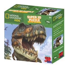 National Geographic Tyrannosaurus100 Piece Puzzle
