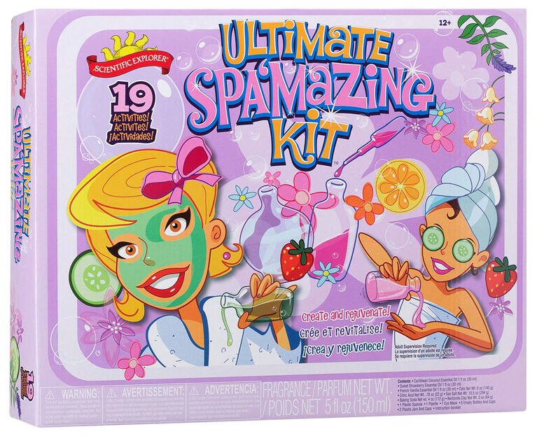 Scientific Explorer - Ultimate Spa Mazing Kit