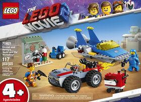 """L'atelier """"Construire et réparer"""" d'Emmet et Benny! LEGO The LEGO Movie 2 70821"""