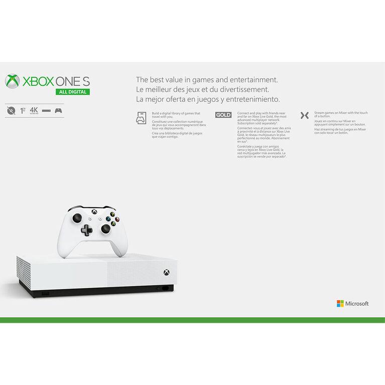 Xbox One S 1TB All Digital Edition
