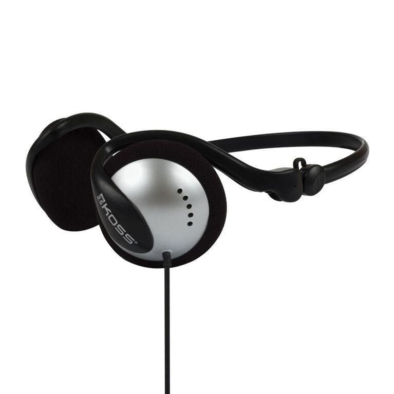 Koss Headphone Wraparound Collapsible Black/Silver