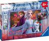 Ravensburger - Disney Frozen - Frosty Adventures Puzzle 2 x 24pc