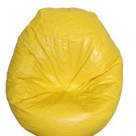 Boscoman - Fun Teardrop Adult Vinyl Bean Bag - Yellow