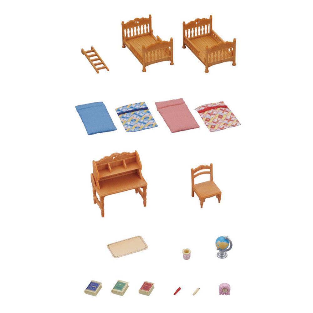 Children`s Bedroom Set Calico Critters New Free Shipping