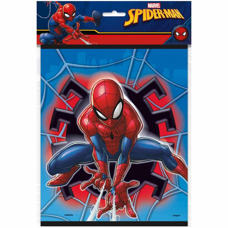 Spider-Man Loot Bags, 8 pieces