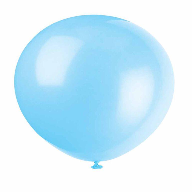 10 Ballons 12 Po - Bleu Poudre
