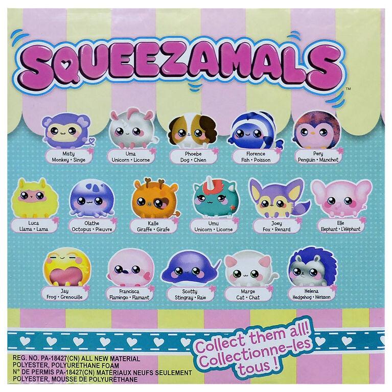 Squeezamals Cubby Cube Fidget Surprise Pack
