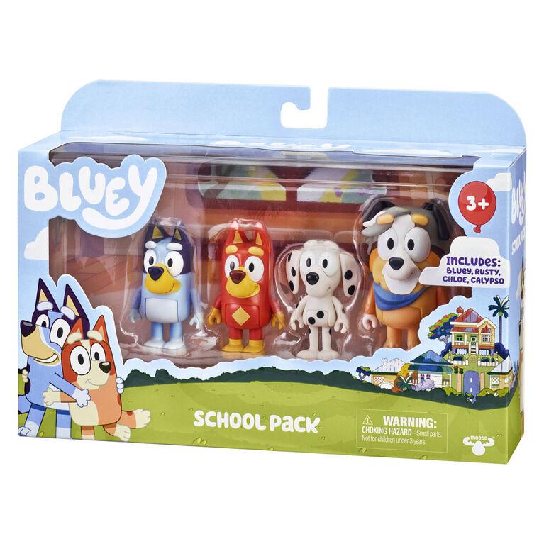 Bluey 4 Pack - School Pack