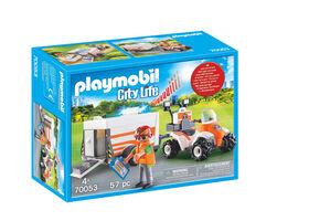 Playmobil - Rescue Quad with trailer