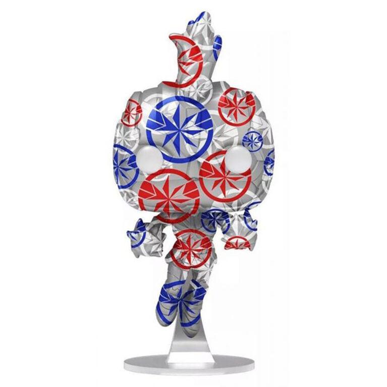 Figurine en Vinyle Captain Marvel par Funko POP! Marvel Patriotic Age - Notre exclusivité