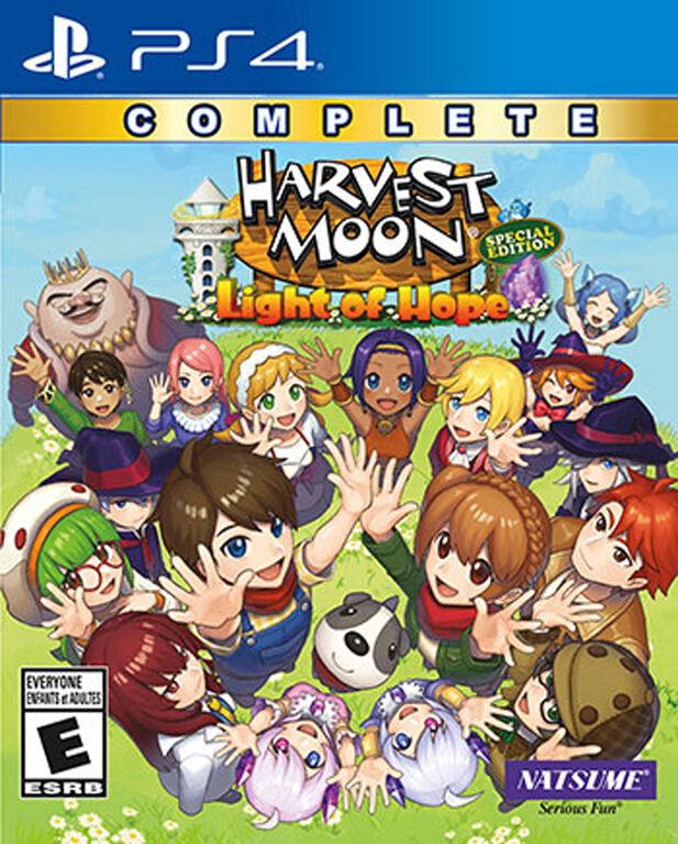 PlayStation 4 Harvest Moon Light Of Hope