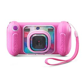 VTech KidiZoom Camera Pix Plus - Pink - Bilingual English/French