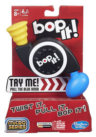Hasbro Gaming - Bop It! Micro Series Game - French Edition