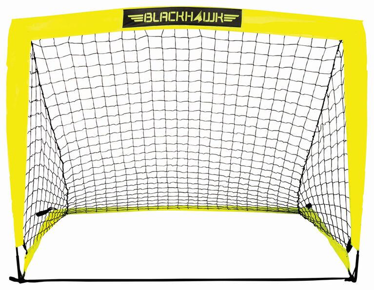 Franklin Sports Blackhawk 4' X 3' Portable Soccer Goal - English Edition