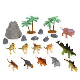 Animal Planet - Dinosaur Bucket Collection - 20 Piece - R Exclusive