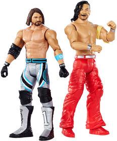 WWE Wrestlemania AJ Styles vs Shinsuke Nakamura 2-Pack - English Edition