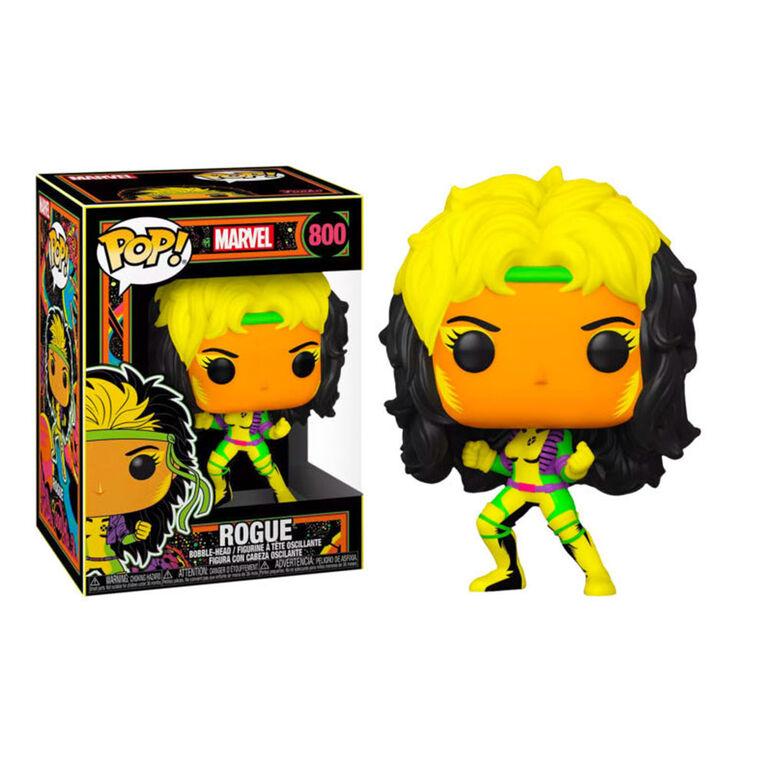 Funko POP! Marvel: X-Men Classic - Rogue (Blacklight) - R Exclusive