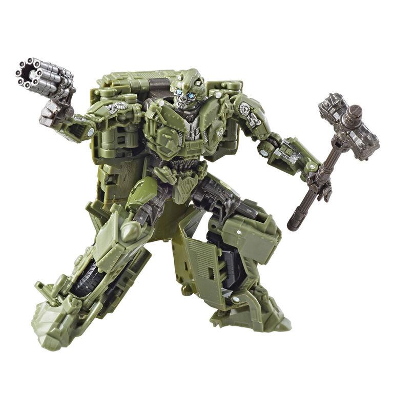 Transformers Studio Series no 26 - Figurine Bumblebee Seconde Guerre mondiale, de classe de luxe, Transformers: Le dernier chevalier